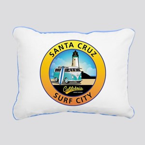 Santa Cruz California Su Rectangular Canvas Pillow