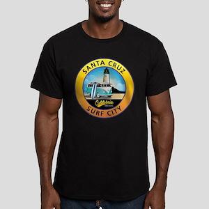 Santa Cruz California Men's Fitted T-Shirt (dark)