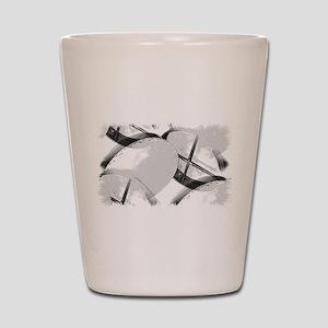 Bodhran Shot Glass