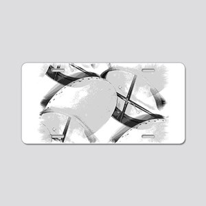 Bodhran Aluminum License Plate