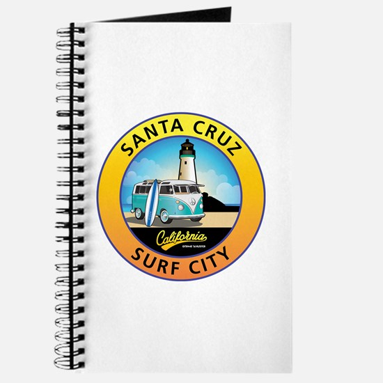 Santa Cruz California Surfer Van Journal