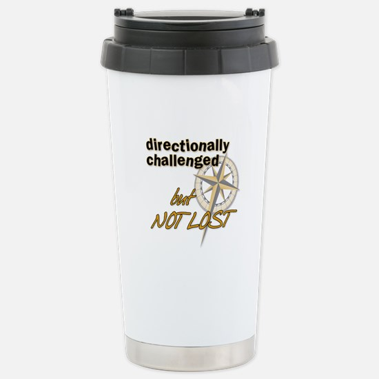 Directionally Challenged Stainless Steel Travel Mu