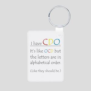 I have CDO ... Aluminum Photo Keychain
