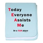 Today Everyone Assists Me (TE baby blanket