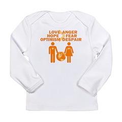 Love Hope Optimism Long Sleeve Infant T-Shirt