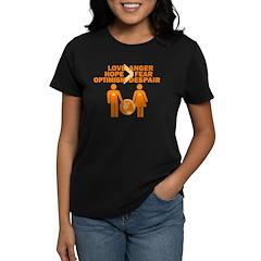 Love Hope Optimism Women's Dark T-Shirt