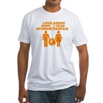 Love Hope Optimism Fitted T-Shirt