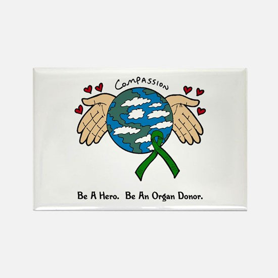 Donor World II Rectangle Magnet