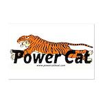 Power Cat Logo Posters Mini Poster Print