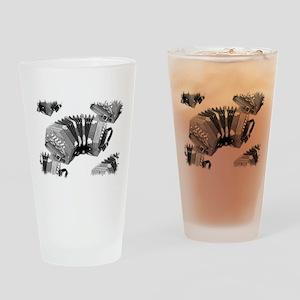 Concertina Drinking Glass