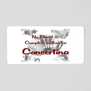 Concertina Aluminum License Plate