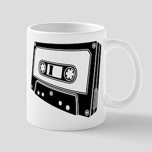 Black & White Cassette Tape Coffee Mug