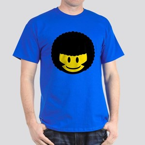 Afro Smiley Dark T-Shirt
