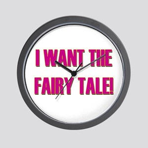 Fairy Tale - Pretty Woman Wall Clock