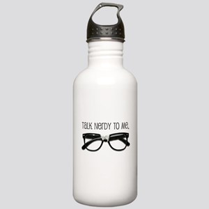 Talk Nerdy To Me<br> Stainless Water Bottle 1.0L