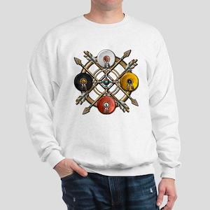 Native Medicine Wheel Mandala Sweatshirt