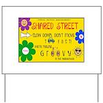 Shared Street Sign Yard Sign