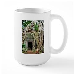 Te Phrom Tree Overgrowth 3 Large Mug