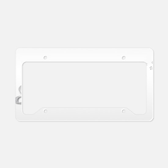 Shy Ronnie License Plate Holder