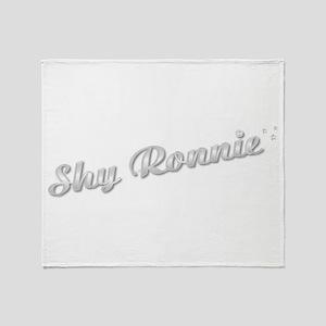 Shy Ronnie Throw Blanket