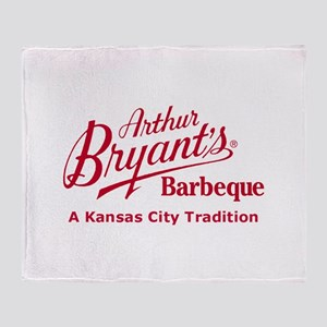 Arthur Bryant's Barbeque Throw Blanket