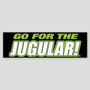 Jugular Black Sticker (Bumper)
