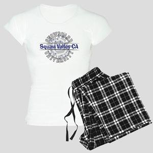 Snowboard Squaw Valley CA Women's Light Pajamas