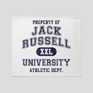 Jack Russell Throw Blanket