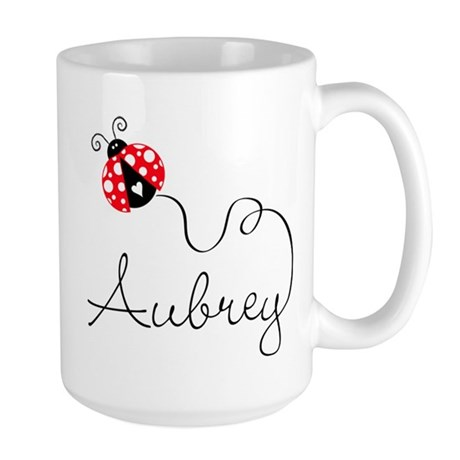 Ladybug Aubrey Large Mug