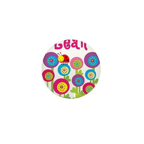 Leah Mini Button