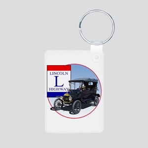 The Lincoln Highway Aluminum Photo Keychain