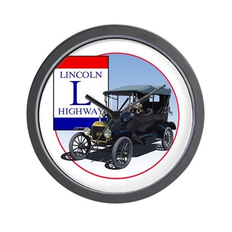 The Lincoln Highway Wall Clock