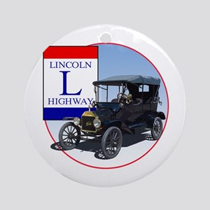 The Lincoln Highway Ornament (Round)