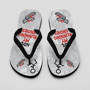 Funny Running Flip Flops