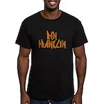 Electric Ben Franklin Men's Fitted T-Shirt (dark)