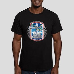 Blackhawk Brigade Men's Fitted T-Shirt (dark)