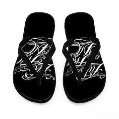 Live Free Or Die Flip Flops
