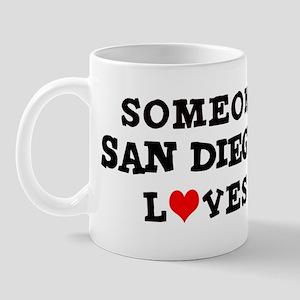 Someone in San Diego Mug
