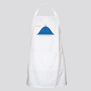Normal bell curve Apron
