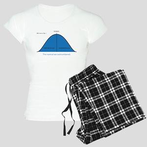 Normal bell curve Women's Light Pajamas