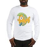 Funny Yellow Tropical Fish Long Sleeve T-Shirt