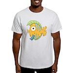 Funny Yellow Tropical Fish Light T-Shirt
