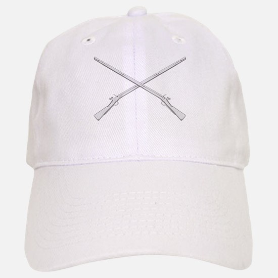 Crossed Muskets Baseball Baseball Cap