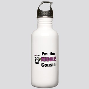 I'm the Middle Cousin Stainless Water Bottle 1.0L
