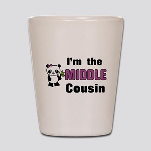 I'm the Middle Cousin Shot Glass