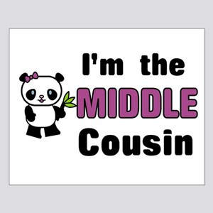 I'm the Middle Cousin Small Poster