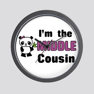 I'm the Middle Cousin Wall Clock