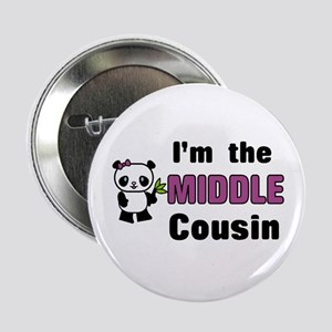 "I'm the Middle Cousin 2.25"" Button"