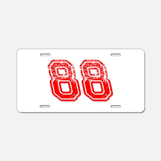 Support - 88 Aluminum License Plate