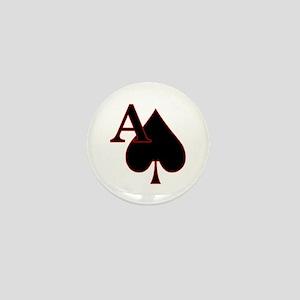 aceOfSpades Mini Button